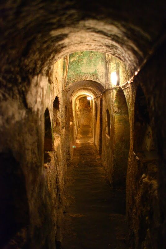 Merlin and Rebecca: Malta's Old Necropolis, St. Paul's Catacombs