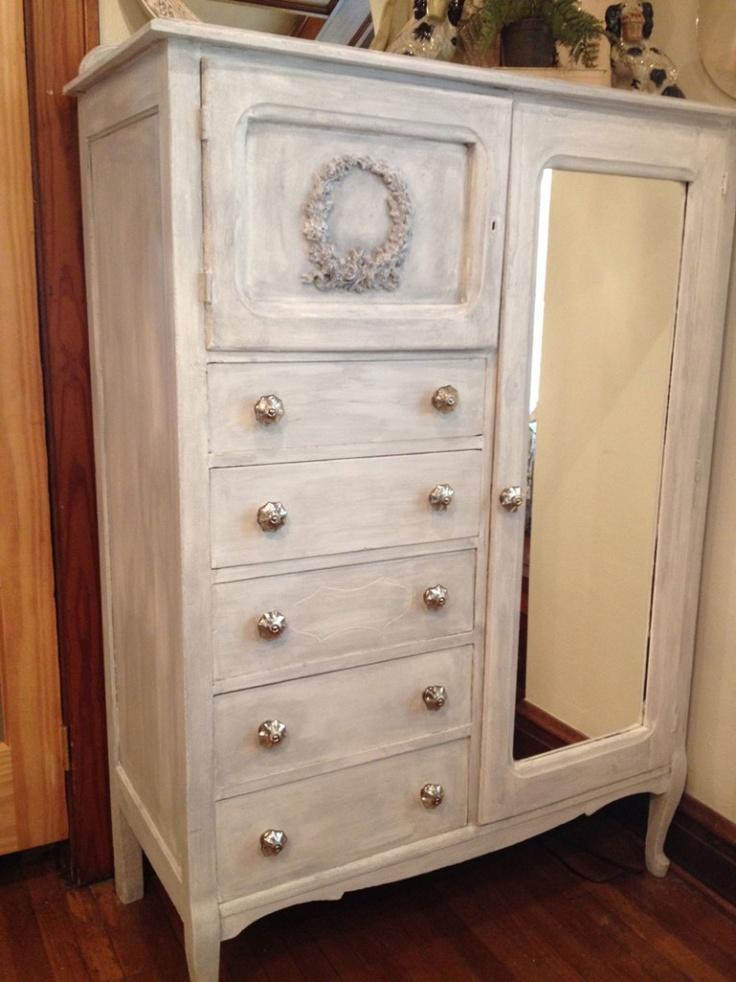 Vintage antique dresser chest