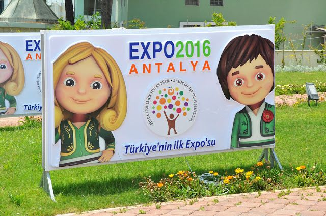 Expo 2016 Antalya BLOG: EXPO 2016 Antalya... following of the visits, the ...
