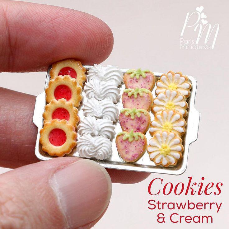https://flic.kr/p/Aw2LF2 | Miniature cookies www.parisminiatures.etsy.com