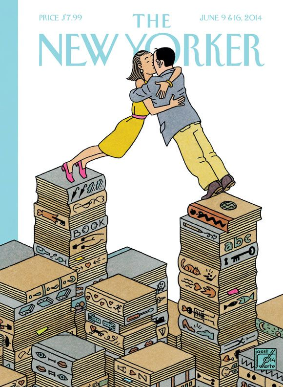 "Read about the cover of our Summer Fiction issue, ""Love Stories,"" by Joost Swarte."