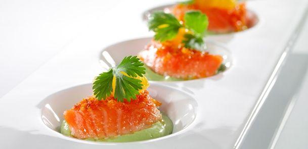 Appelsin- og korianderbakt SALMA - SALMA laks bakt i ovn - Oppskrifter - SALMA