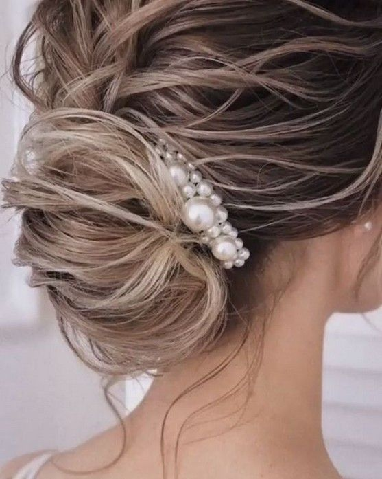 81 Most Gorgeous Vine Pearl Hairstyles Inspirational Ideas For Wedding Or Prom - Page 17 of 81 - Diaror Diary