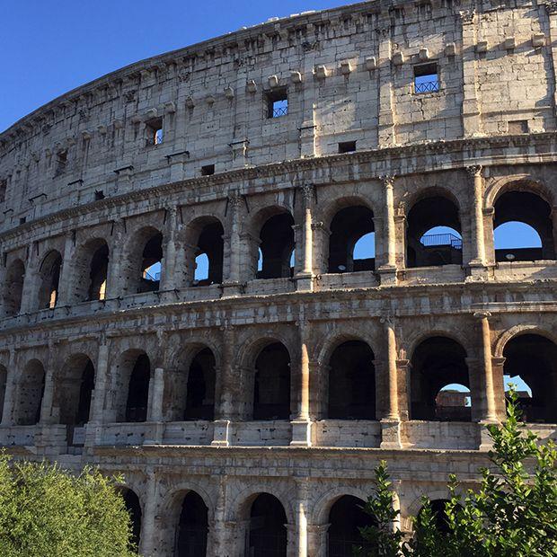 Coliseu, Roma - Os 20 destinos mais compartilhados no Instagram;