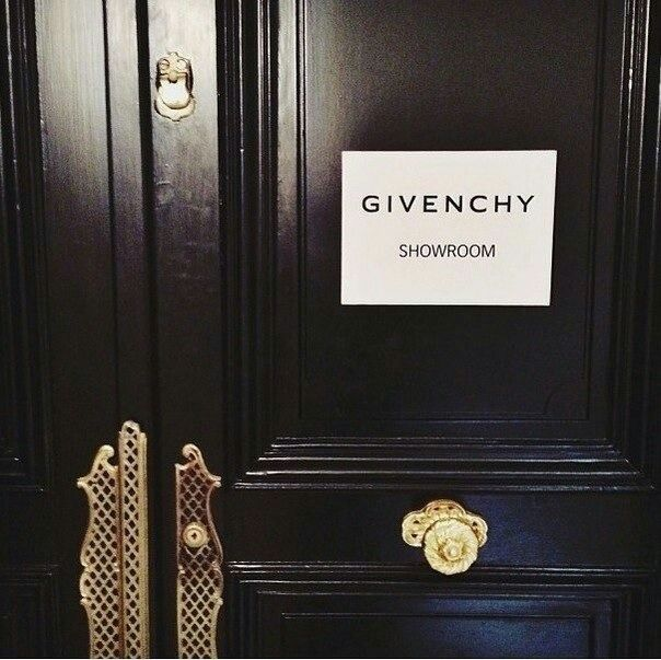 #givenchy #showroom
