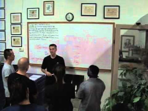 Combat Self Defense Basic Principles 1st third Part B by Master Anderson an Ip Man Wing Chun Sifu - YouTube