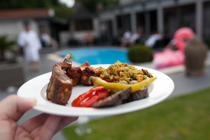 Saunaclub News: Auch in gutes Essen investiert das Dolce Vita Düsseldorf