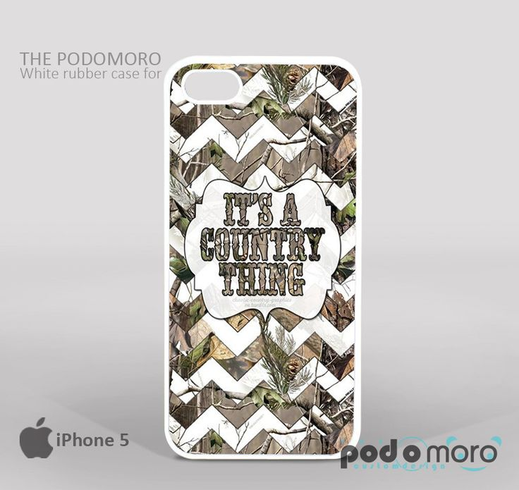 Camo Chevron It's A Country Thing for iPhone 4/4S, iPhone 5/5S, iPhone 5c, iPhone 6, iPhone 6 Plus, iPod 4, iPod 5, Samsung Galaxy S3, Galaxy S4, Galaxy S5, Galaxy S6, Samsung Galaxy Note 3, Galaxy Note 4, Phone Case