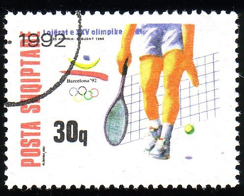 Stamp from Albania   Barcelona 1992, Olympic Games