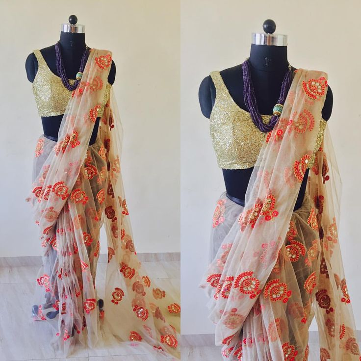Beige net Saree To purchase this product mail us at houseof2@live.com or whatsapp us on +919833411702 for further detail #fashion #sari #indian #anarkali #lehenga  #wedding #bridalwear #indianwedding #designer #bridal #desi #indianfashion #ethnic #sarees #onlineshopping #dress #indianbride #style #indianwear #lehengacholi #instafashion #suit #salwarkameez  #traditional #bride  #couture #sareeindia #blouse  #shopping  #fashionista