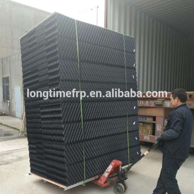 Pvc Fill For Water Cooling Tower Plastic Honeycomb Pvc Fill Media