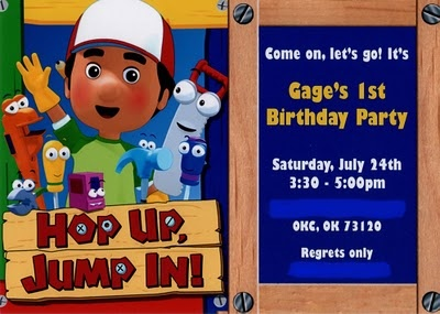 Handy manny party stuff for aj pinterest birthdays for Handy manny decorations