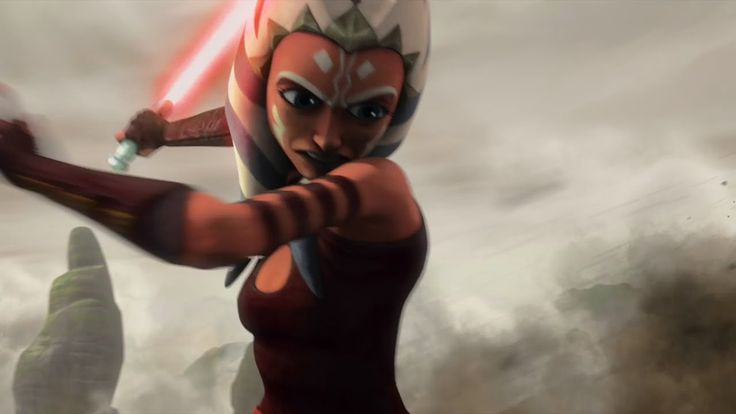 Star Wars The Clone Wars Ahsoka's Revenge. Pretty cool for a fake trailer XD Problem is I recognize all the shots from other episodes XP