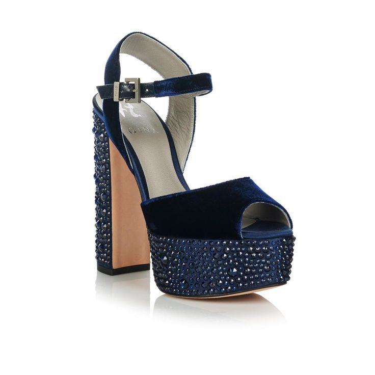 Buy Caudalie, Blue Wedges | GINA