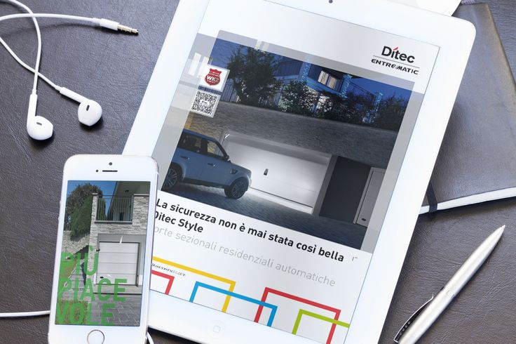 Ditec Entrematic | Responsive Web Development