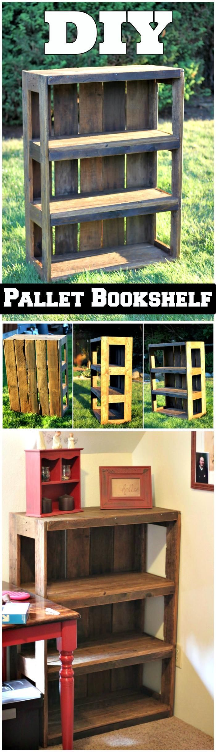 150 Best DIY Pallet Projects and Pallet Furniture Crafts - Page 56 of 75 - DIY & Crafts