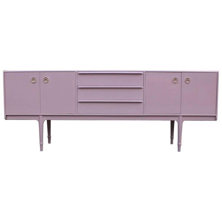 Luxe Pale Pink Or Lavender Lacquered Modern McIntosh Sideboard. Lavender  DecorMid Century FurnitureFurniture ...