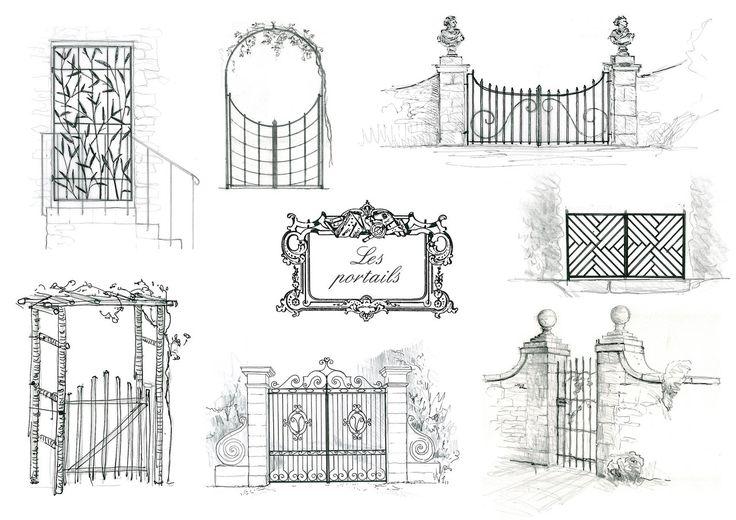 Les portails-Dominique Lafourcade