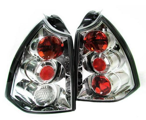 Peugeot 307 SW Estate 2001-2008 Chrome Lexus Rear Lights