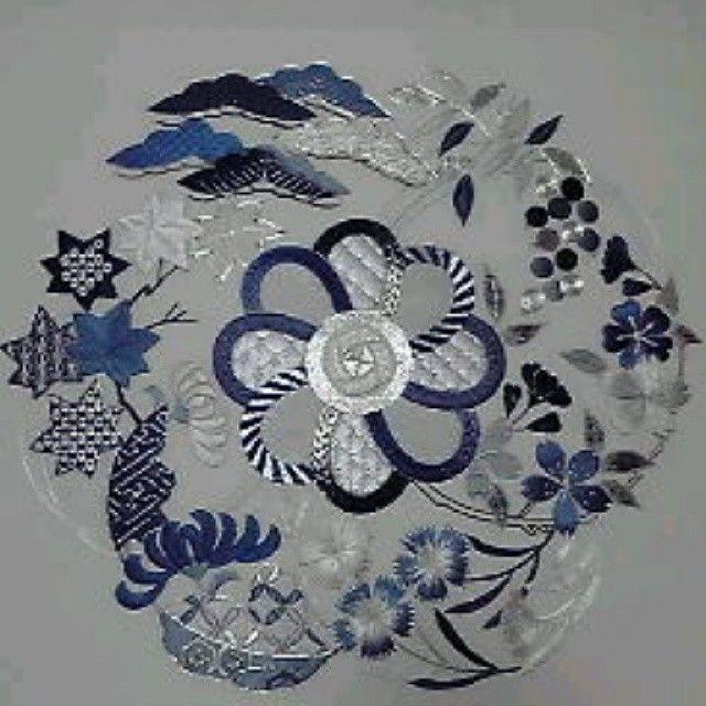 「日本刺繍の作品。 紅葉をいろんな技法で刺してます。 #東亜和裁  #紅葉  #東亜和裁インスタ祭り  #toawasai #日本刺繍」