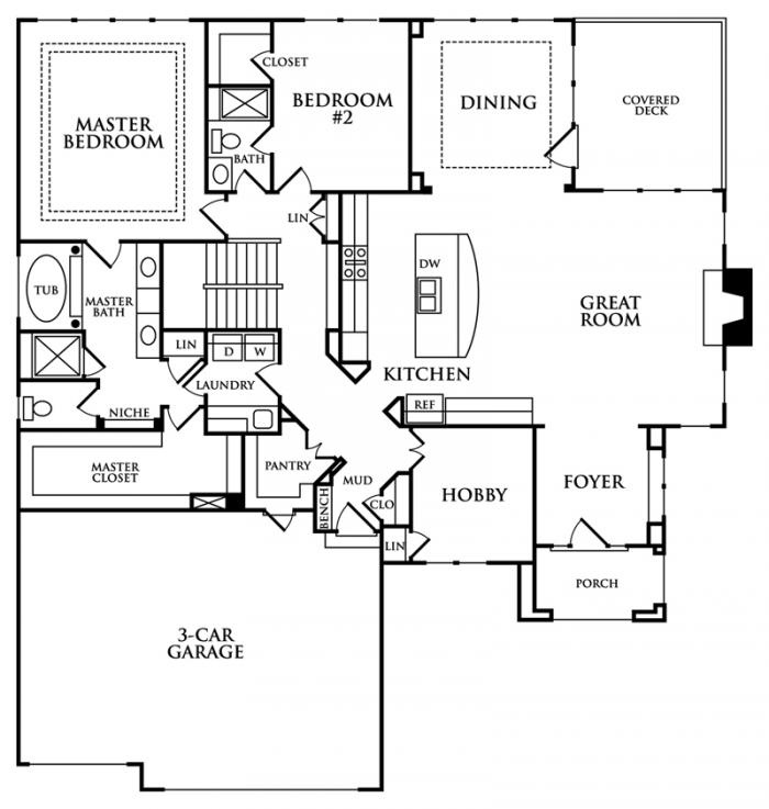 Luxury Home Design Summit: Summit Custom Homes Glenwood Floor Plan