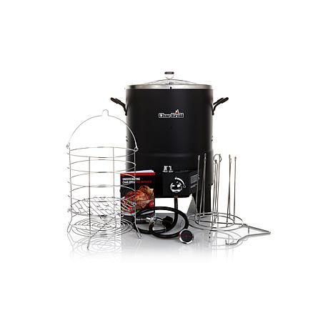 Char-Broil Big Easy Turkey and More TRU-Infrared Oil-Less Fryer Bundle with 2 L - 7864782 | HSN