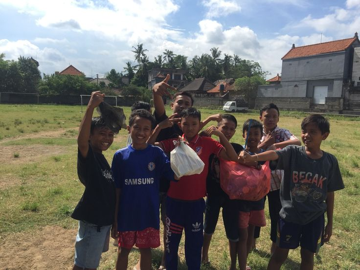 Our kids having fun during the recycling event last week. #vpbali #recycling #event #inspire #bethechange