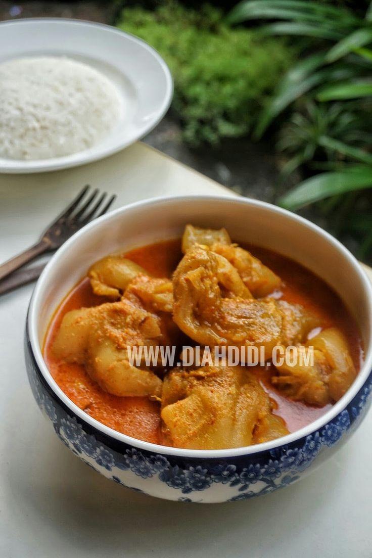Diah Didi's Kitchen: Gulai Tunjang
