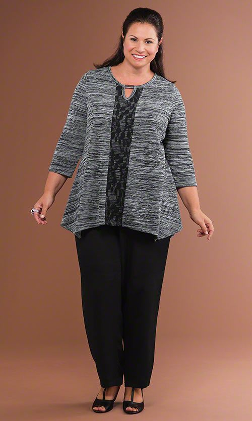 Vortex Top & Venus Pants / MiB Plus Size Fashion for Women / Fall Fashion http://www.makingitbig.com/product/4965