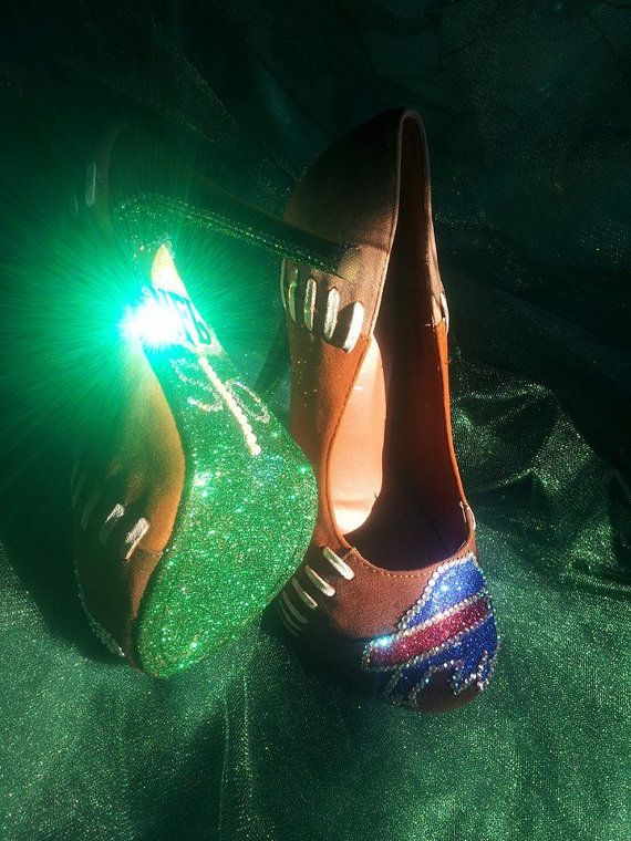 FOOTBALL CUSTOM HEELS by OMGSCUSTOMSHOES on Etsy ...they need 2 b Dallas though!! *