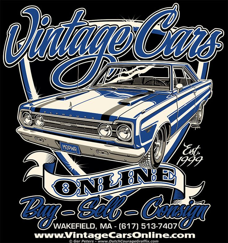 R&D USA Classics logo #automotive #vintage #classic #Plymouth #logo ...