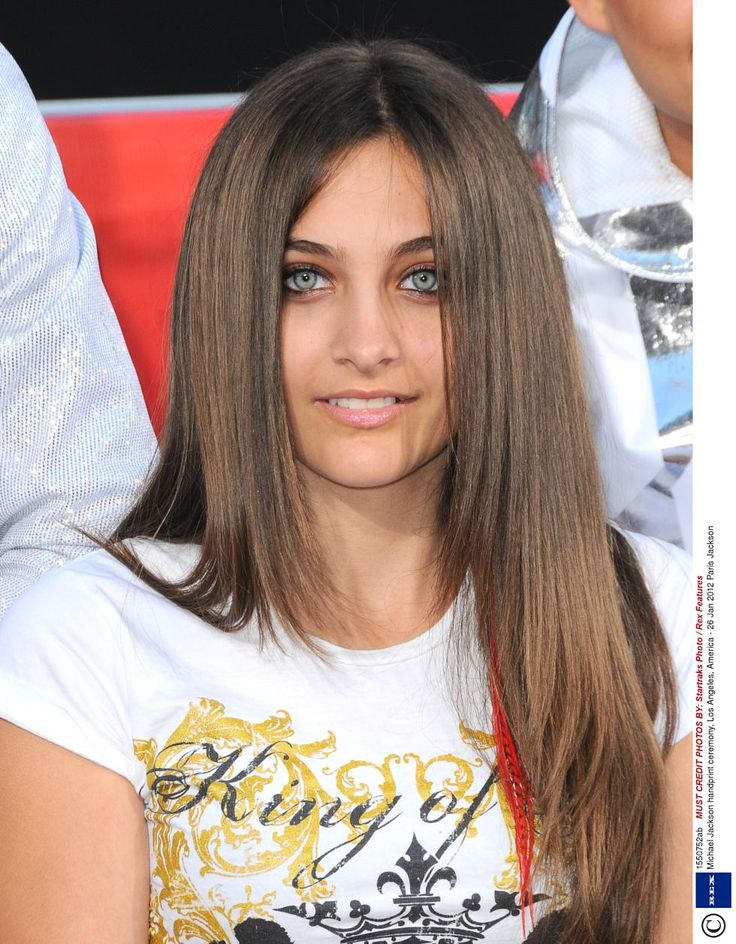 Paris Jackson (age 13) in January 2012. I can't imagine how proud Michael would be of her.