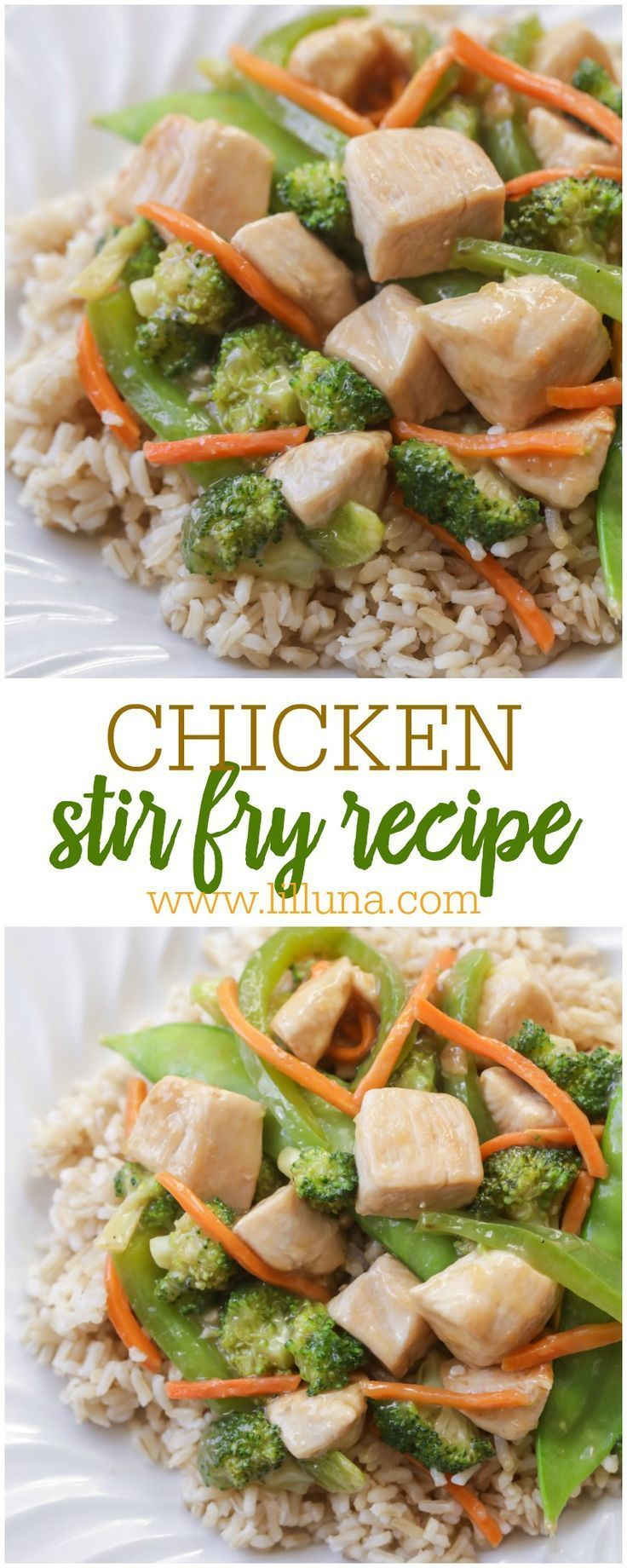 Chicken Stir Fry Recipe Yum Yum Chicken Easy Chicken Stir Fry Chicken Stir Fry