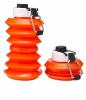 Ohyo 1 Litre Collapsible Water Bottle Orange