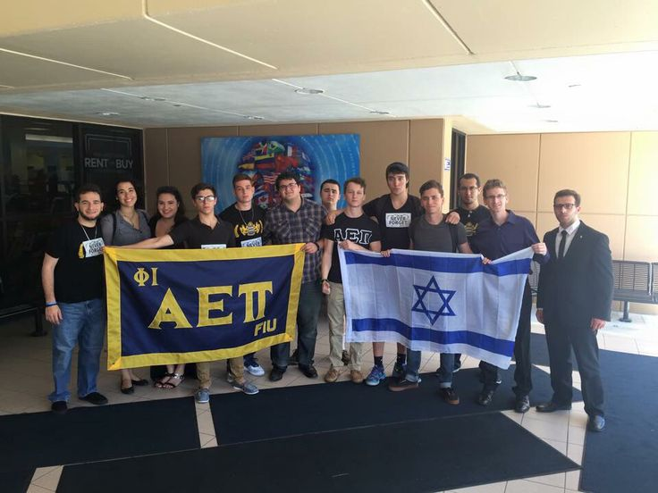 "JEWISH FRATERNITY: Alpha Epsilon Pi  ""This is the Alpha Epsilon Pi, the #Jewish fraternity's chapter at #Florida International #University in #Miami, Florida during their event, we walk to remember, raising awareness of the #holocaust on #campus."" - Noah Spiner"