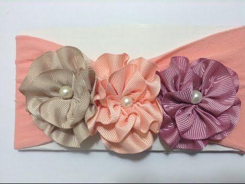 873 best Video Ribbon Flower images on Pinterest