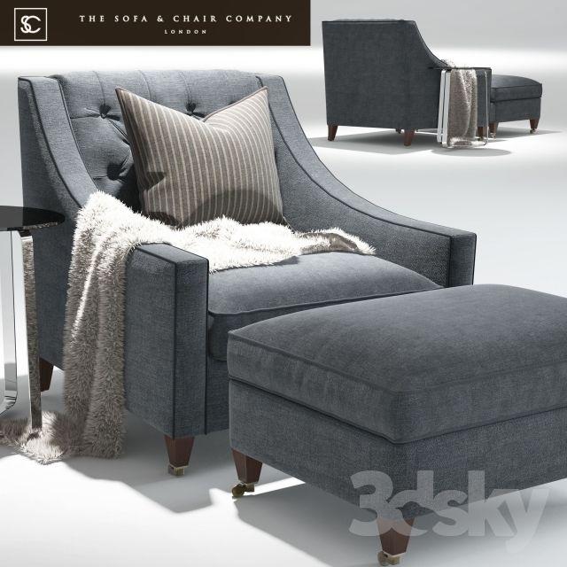 Renoir Armchair_Elypsis Table_The sofa and chair company