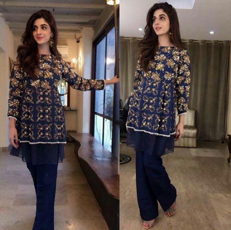 Mawra Hocane Beautiful in Royal Blue Dress! #Gorgeous #Elegant #MawraHocane #ComedyShow #MazaakRaat #PakistaniCelebrities ✨