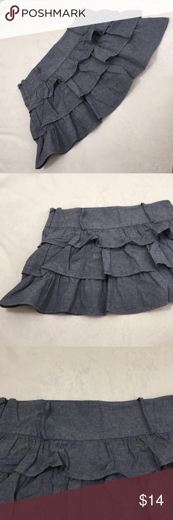 Body Central skirt Body Central Skirt in womens cute ruffle skirt  SK-1 Body Central Skirts Mini