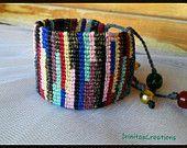 Beaded bracelets/Macrame by IrinitasCreations on Etsy