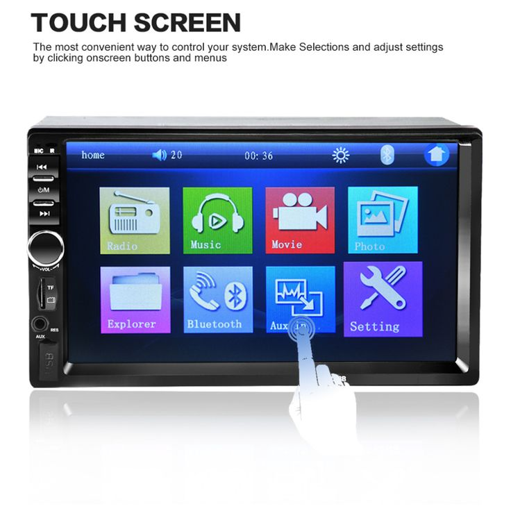LESHP 7018B 7 Inch Bluetooth Audio Car MP3 MP5 Player In Touch Screen Car Radio Car Audio Stereo USB Support for SD/MMC Hot Sale
