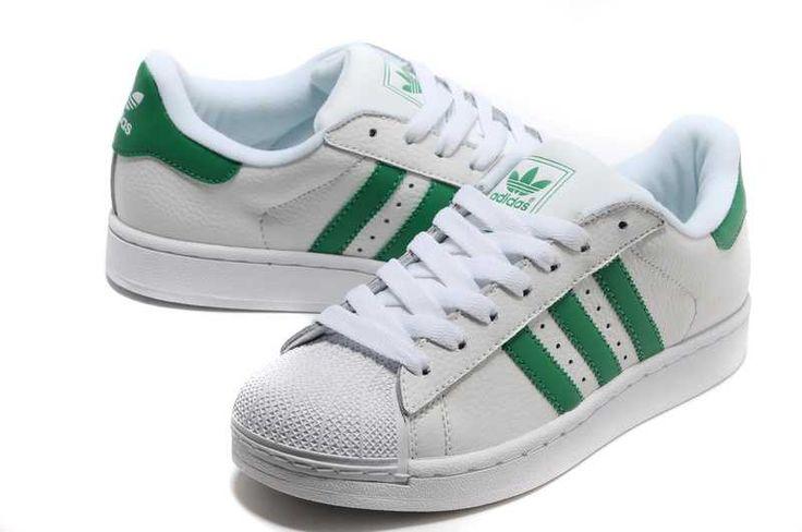 Adidas Superstar Femme Verte Et Blanche bizrusonline.fr