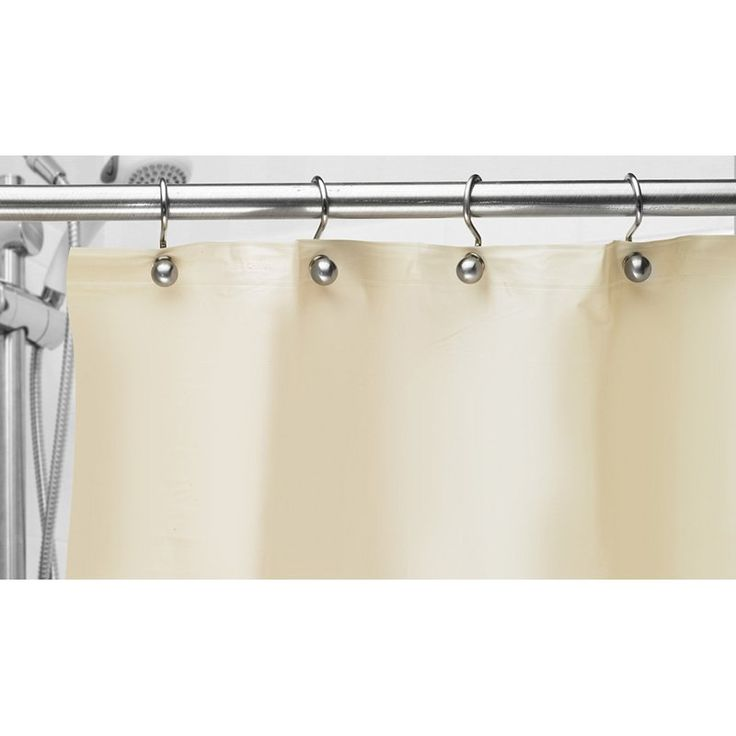 Popular Bath 8 Gauge Shower Liner With Metal Grommets   Line Your Shower  Curtain With The Popular Bath 8 Gauge Shower Liner With Metal Grommets To  Help Keep ...