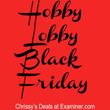 Black Friday Hobby Lobby ad scans feature 50 percent off Christmas decor