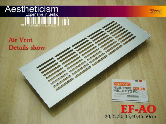 ВЫБОРГ 200x80x11mm Вентиляционное отверстие Крышки для Шкафы/Шкафы и кондиционер Вентиляционные Крышки, EF-AO-20