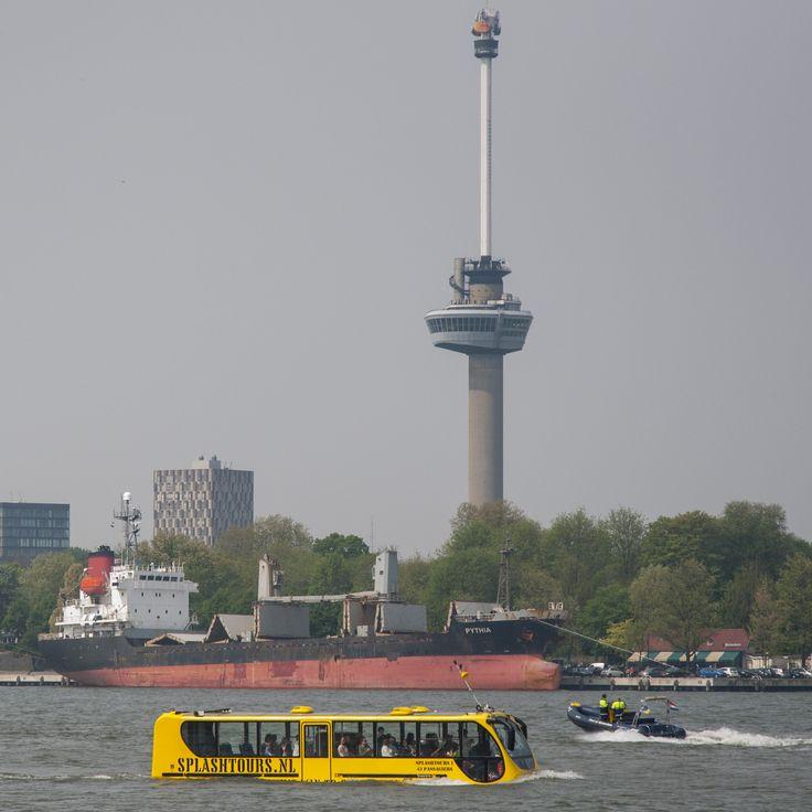 Amfibiebus | Rotterdam | The Netherlands    http://www.rotterdam.info/bezoekers/locaties/attracties/430/splashtours/