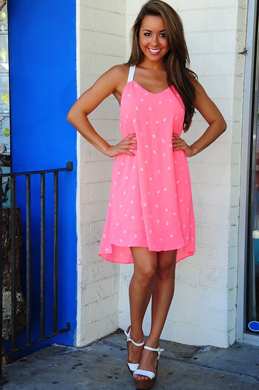 Sailing Around Dress: Pink   Apply MEAGANREP at checkout for a 10% discount off your entire purchase plus free shipping!