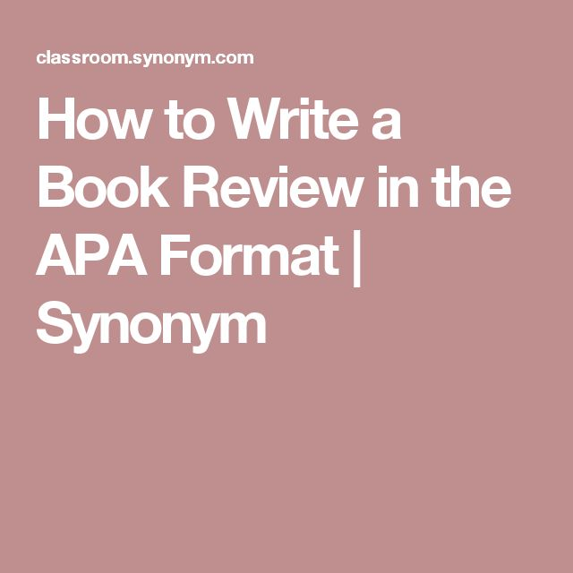 the best apa standards ideas apa format example  how to write a book review in the apa format synonym