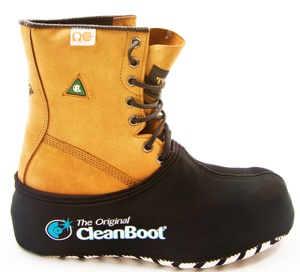 The Original Cleanboot - work boot covers available online in Australia at www.cleanboots.com