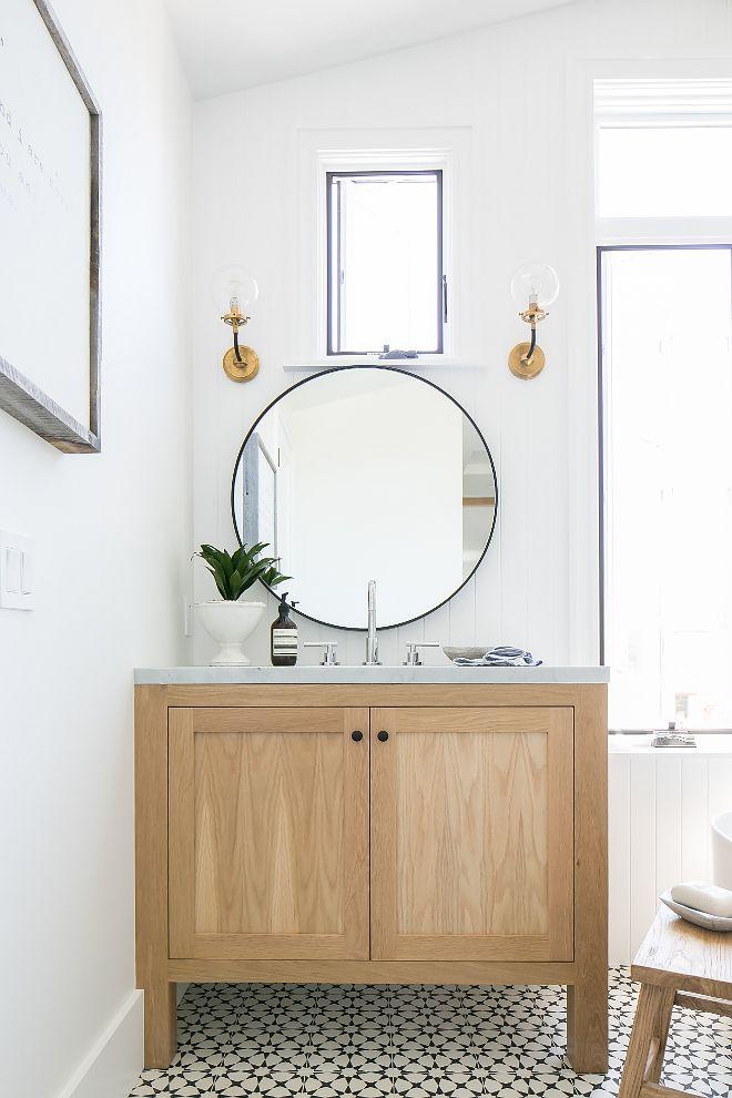 Black Modern Bathroom Vanity